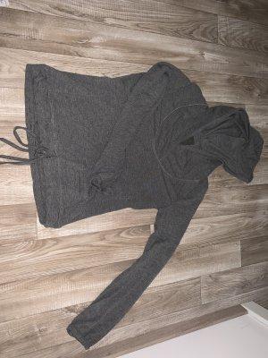 Jersey con capucha gris