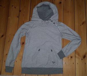Roxy Maglione con cappuccio grigio chiaro
