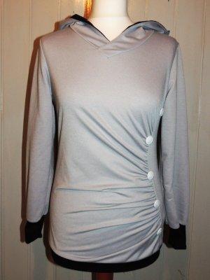 Jersey con capucha gris Poliéster