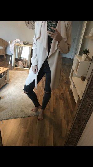 Dünner langer Mantel