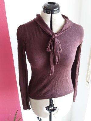 dünner lockerer Pullover