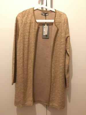 Dünner Mantel beige/braun