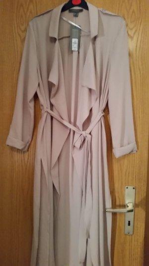 Atmosphere Floor-Lenght Coat nude-cream