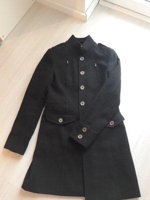 Dünner Mantel Übergang H+M schwarz Gr. 38 ♡ 1x getragen ♡