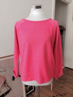 dünner neon pink Pullover