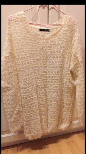 Dünner oversized pullover beige hell