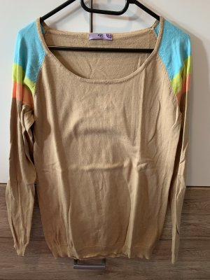 AJC Coarse Knitted Sweater multicolored