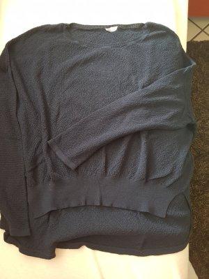 Basic Sweater donkerblauw