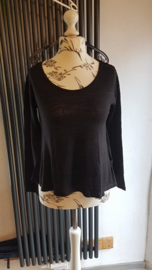 Dünner Pullover Gr. 36 schwarz