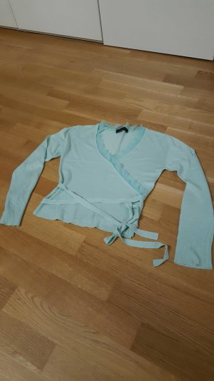 Dünner Pullover in helltürkies von OUI -neuwertig-