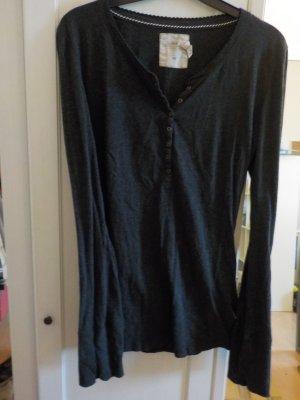 Dünner Pullover mit Knopfleiste