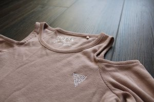 Guess Jersey color rosa dorado Algodón
