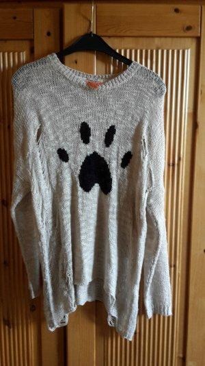 dünner Pullover mit Pfote