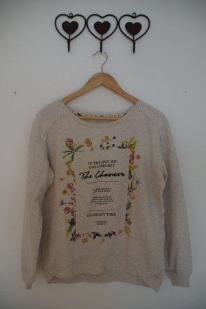 dünner Pullover mit Print
