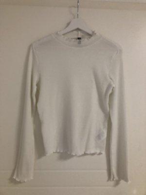 H&M Top lungo bianco