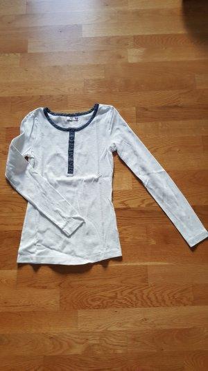 dünner Pullover weiß