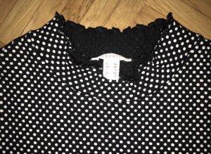 Esprit Maglione dolcevita nero-bianco