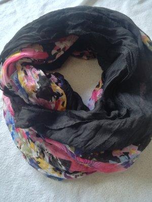 dünner Schal mit Blumenmuster