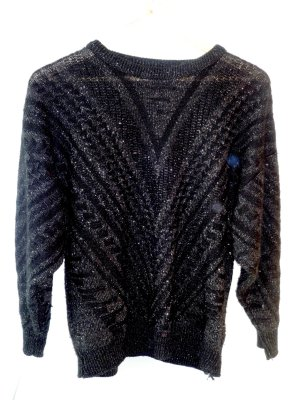 Dünner Vintage-Wollpulli
