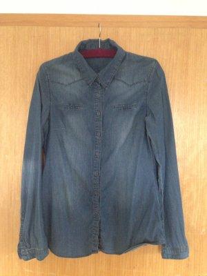 Yaya Denim Shirt blue