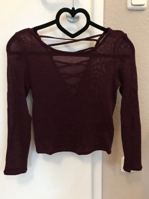 H&M Mesh Shirt purple