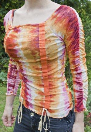 Camisa batik multicolor