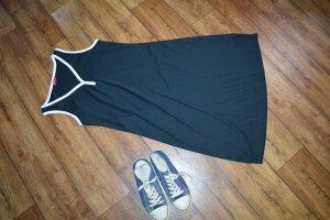 Biaggini A Line Dress dark blue-white