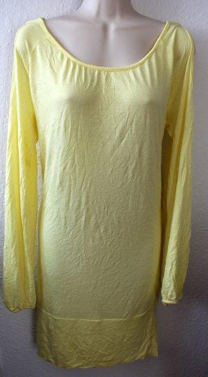 Dünnes Strandkleid,  Zitronen gelb