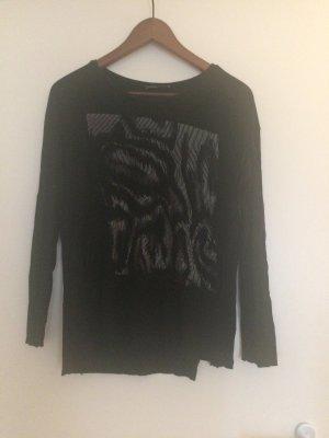 Zara Haut long noir-argenté