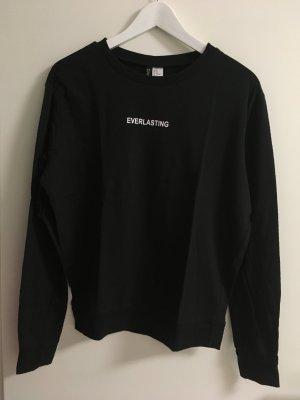 dünnes Sweatshirt mit Schriftzug