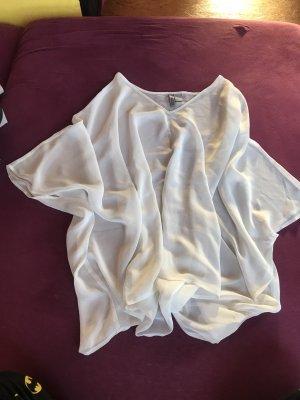 H&M Blusa de túnica blanco