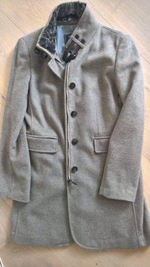 Abrigo de lana beige Lana