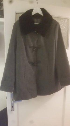 C&A Duffel Coat black-dark grey