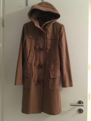 Duffle Coat von Benetton Größe 38 (IT) Camel