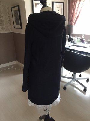 Benetton Duffel Coat dark blue