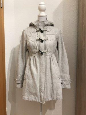 H&M Duffel Coat natural white