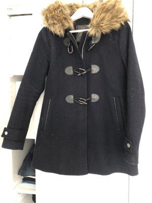 Superdry Duffel Coat dark blue