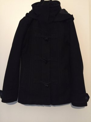 H&M Duffel Coat black