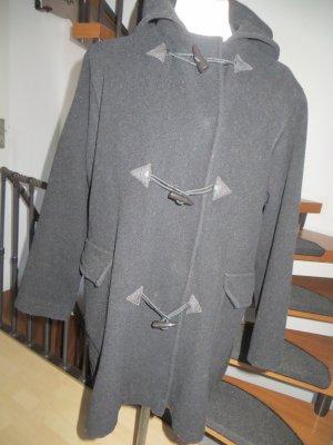Dufflecoat schwarz von Snob Gr.M 40 mit Kapuze