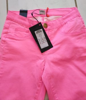Only Leggings neon pink