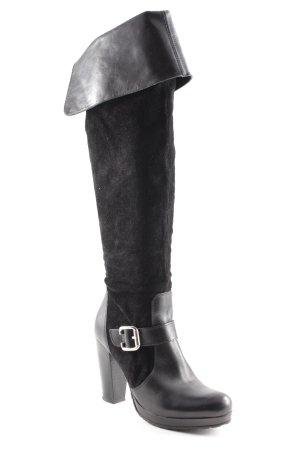 Dune Absatz Stiefel schwarz Elegant