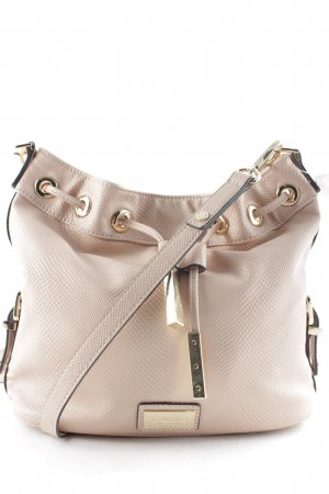 Dune Pouch Bag dusky pink-gold-colored casual look