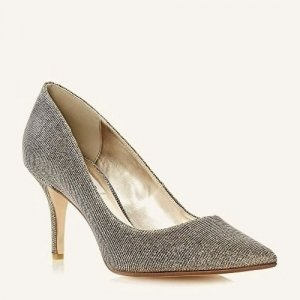 Dune , Damen Pumps Goldfarben