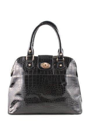 Dune Handtasche schwarz Allover-Druck Elegant