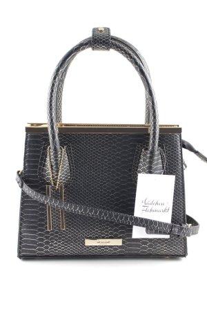 Dune Handtasche goldfarben-schwarz klassischer Stil