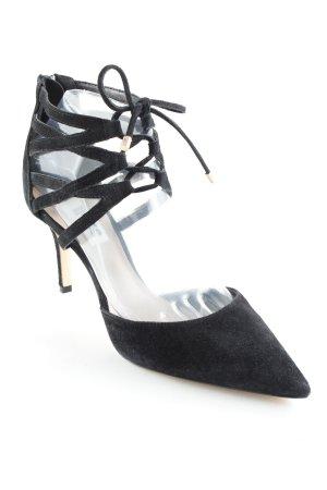 Dune High Heel Sandaletten schwarz extravaganter Stil
