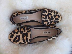 Dune – Kozzie – Slipper mit Leopardenmuster