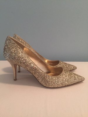 Dune London Pumps Glitzer neu!