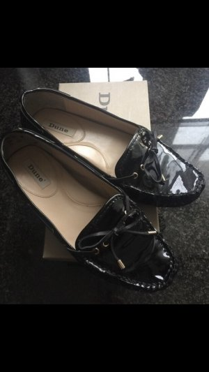 DUNE London Schuhe schwarz Lack Gr. 41