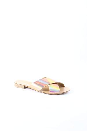 Dune Sandalen mehrfarbig Glanz-Optik